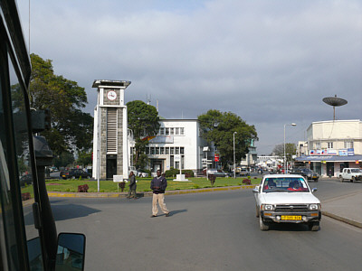 Der Clock Tower in Arusha