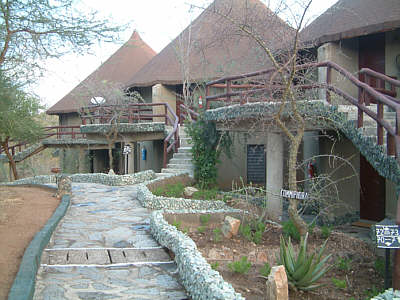 Bungalows in der Tarangire Sopa Lodge, Tarangire Nationalpark