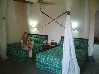 Zimmer in der Tarangire Sopa Lodge, Tarangire Nationalpark